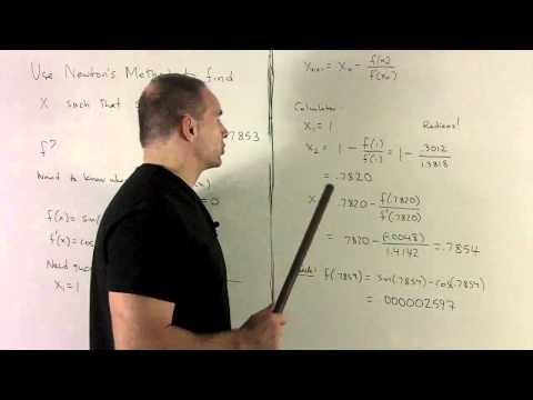 Newton's Method 2