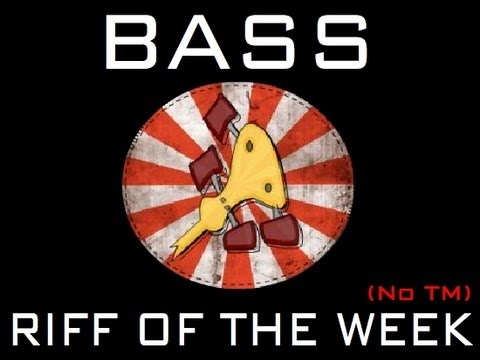 Bass Riff of the week # 12 (Quick Slap and pop)