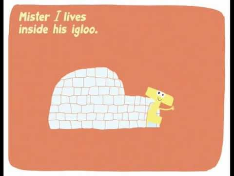 The alphabet for kids. Letter I: Mister I