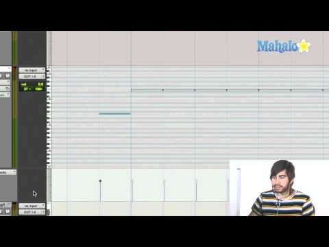 Pencil Tools with MIDI - Pro Tools 9