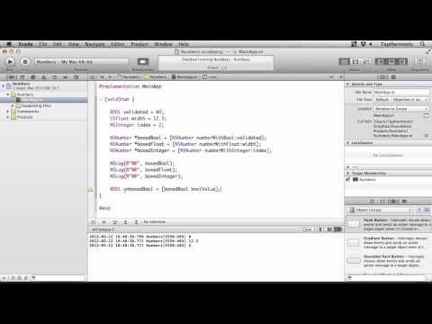 iOS Programming Tutorial | Working with Numbers