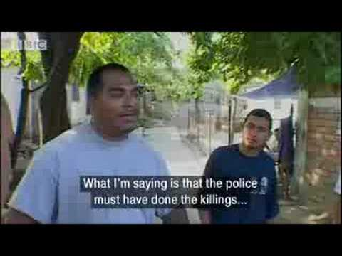 El Salvador - Gang crime and homicide - Holidays in the Danger Zone: America Was Here - BBC travel & politics