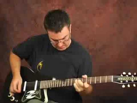 Demo Danelectro Baritone guitar spaghetti western music