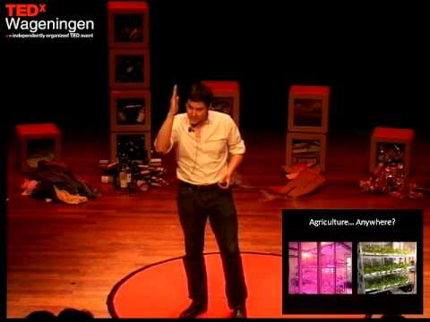 Agriculture Anywhere: John Apesos at TEDxWageningen