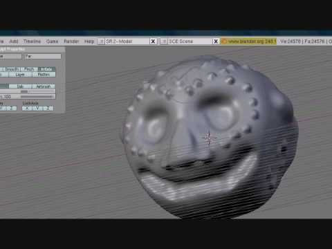 Blender Tutorial - Sculpting