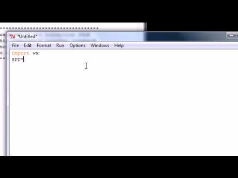 Python Programming Tutorial - 44 - Installing wxPython