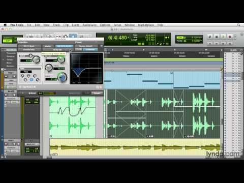 Pro Tools tutorial: The AudioSuite plug-ins | lynda.com