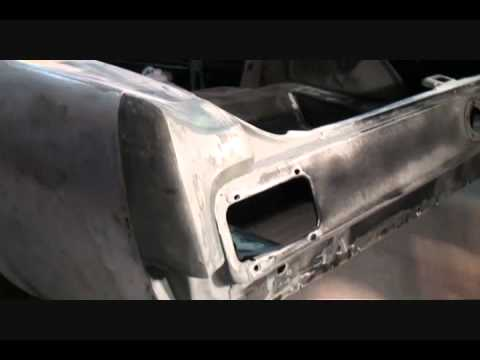 Automobile Restoration-How To Repair Your Quarter Panel Extension To Prefection. Part 1