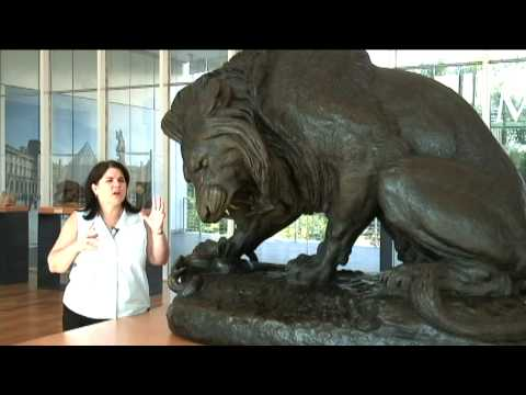 Louvre Atlanta Highlights | Barye's Lion with Serpent