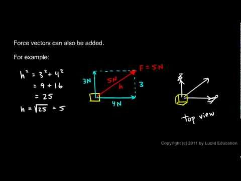 Physical Science 2.4i - Adding Force Vectors