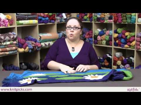 Designer Interview - Lilypad Shawl