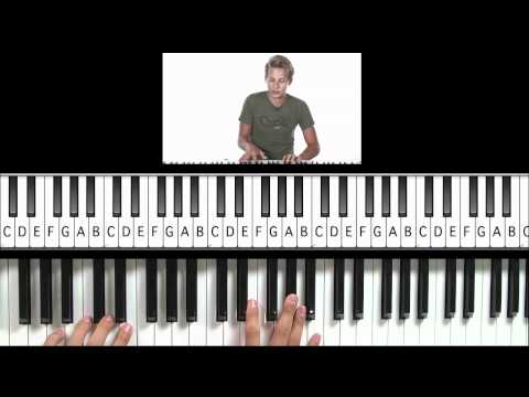 "How to Play ""Don't You Want Me"" (Glee Version) on Piano"