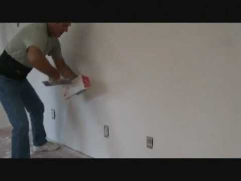 How to install skim coat drywall joint compound
