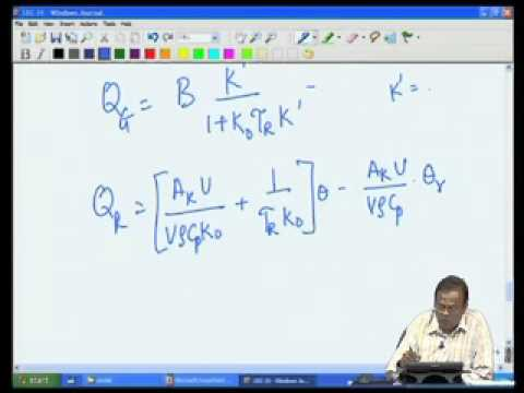 Mod-05 Lec-35 CSTR - Multiple Steady States