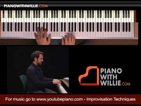 Learn Piano Improvisation - Part 3 - What notes do I play?