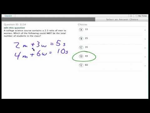 Grockit SAT Math - Multiple Choice: Question 3134