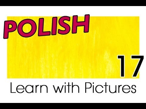Learn Polish with Pictures - A Rainbow of Colors