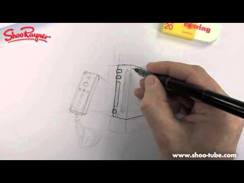 How to draw a Wii box and controller