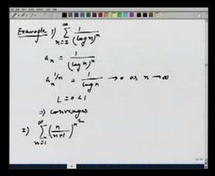 Lecture 15 - Tests of Convergence
