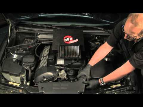 Replacing the Engine Air Filter in a BMW or MINI