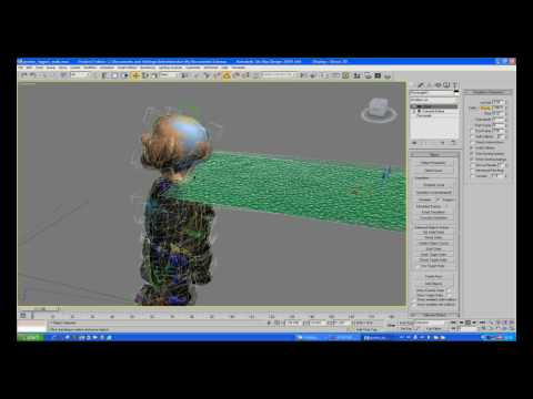 3D Studio MAX Cloth Tutorial Part 02