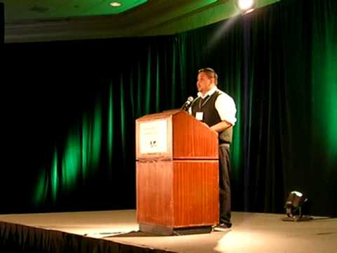 Student Miguel Mandujano Giving Plenary Keynote at National Conference on Geographic Education