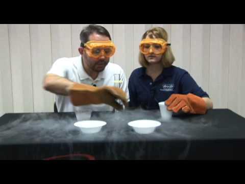 Liquid Nitrogen Experiments: Insulators