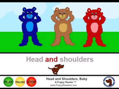 Head And Shoulders Baby 1 2 3:  Animated Song Book for Kids