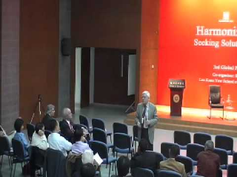 Harmonizing Globalization - Seeking Solutions to Common Problems: Day Two  - Pt 5