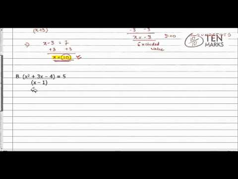 Solve Simple Rational Expressions