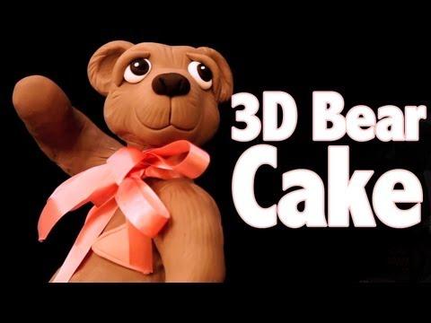 Bronwen's 3D Standing Bear Cake Class - CAKE TRAVELS #15