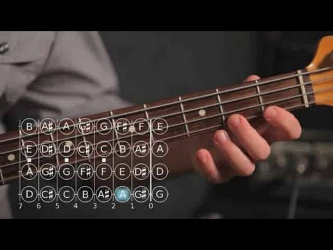 Bass Scales: How to Play the F Minor Scale