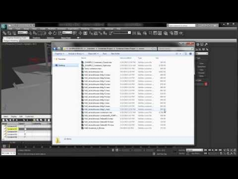 3dsMax: Containers pt.1 Scene Managment