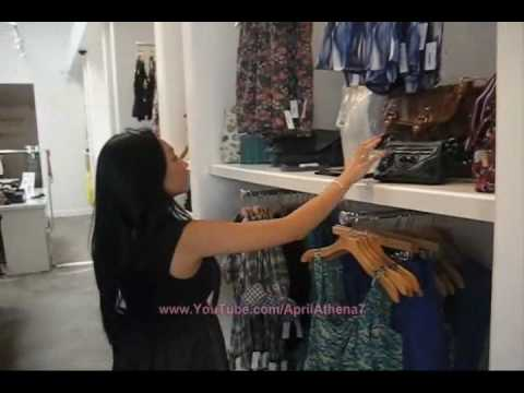 Kaitlyn Clothing Haul and Westwood Location Shopping: Dresses and True Religion Jeans