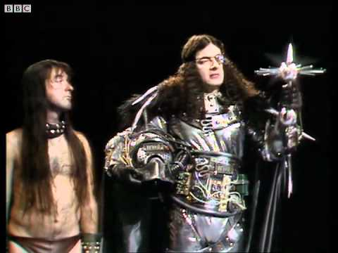 Ghost of Christmas future - Blackadder's Christmas Carol - BBC