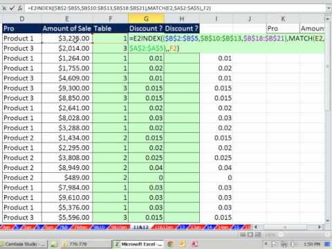 INDEX & MATCH functions Beginner to Advanced 19 Examples (Excel VLOOKUP WEEK Video #3)