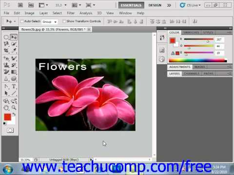Photoshop CS5 Tutorial Color Mode Conversion Adobe Training Lesson 4.2