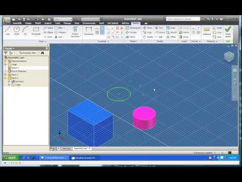 Ribbon UI in Inventor 2010 - Part 2