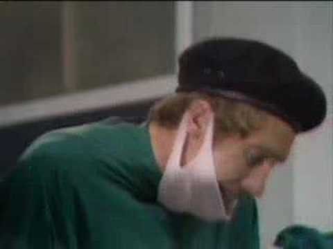 Operating theatre - Some Mothers Do 'Ave 'Em - BBC classic comedy