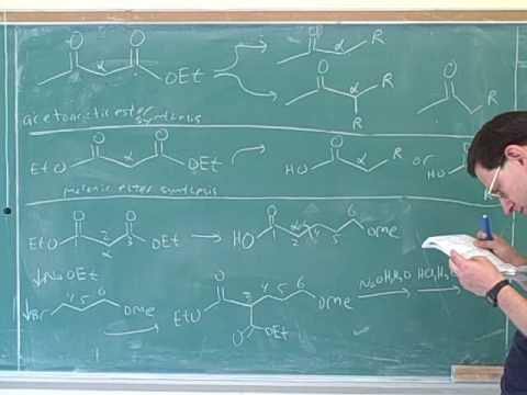 Reactions of enamines and enolates (29)