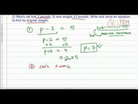 Solve Subtraction Equations
