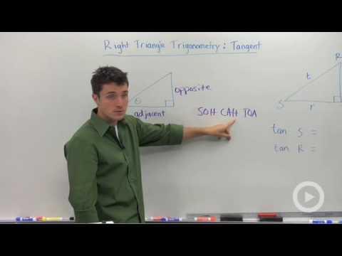 Trigonometric Ratios: Tangent