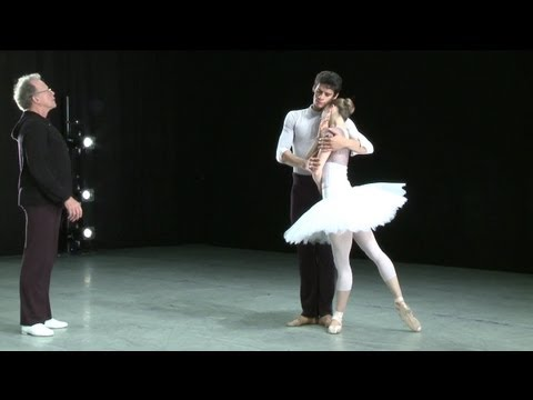 Swan Lake - in rehearsal