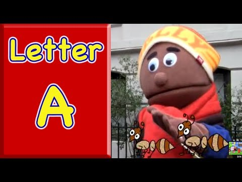 "The Letter A:  Learn words that begin with the letter ""A"""