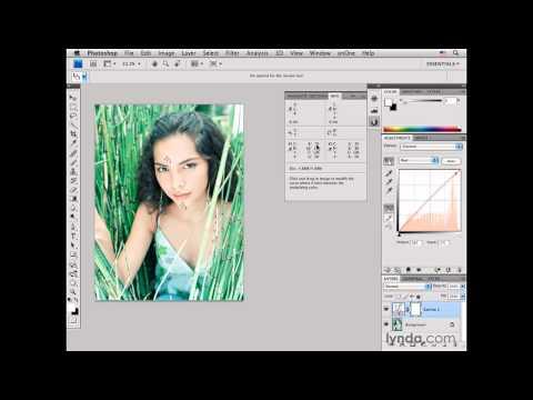 Photoshop: Color-correcting medium-light skin tones: Female | lynda.com