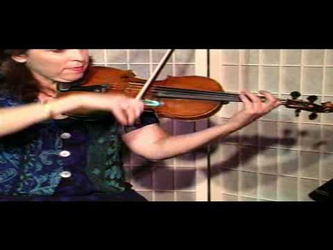 "Violin Lesson - Song Demonstration - ""Tzena Tzena"""
