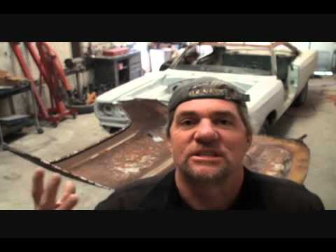 Rust Repair Made Easy-Car Roof Replacement-Part 9-Using Steel Wool