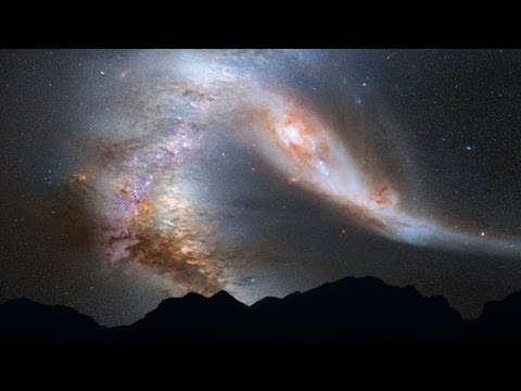 Smashing into Andromeda (NEWS) - Deep Sky Videos