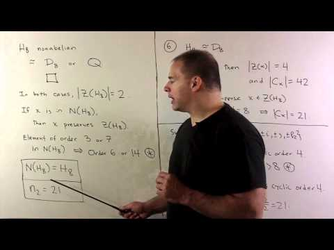 Simple Group 168 - Sylow Theory - Part 2