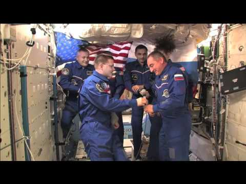 Space Station Command Changes Hands